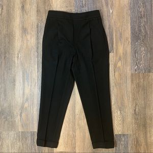 Vince Cropped Drawstring Pull-On Jogger Pants